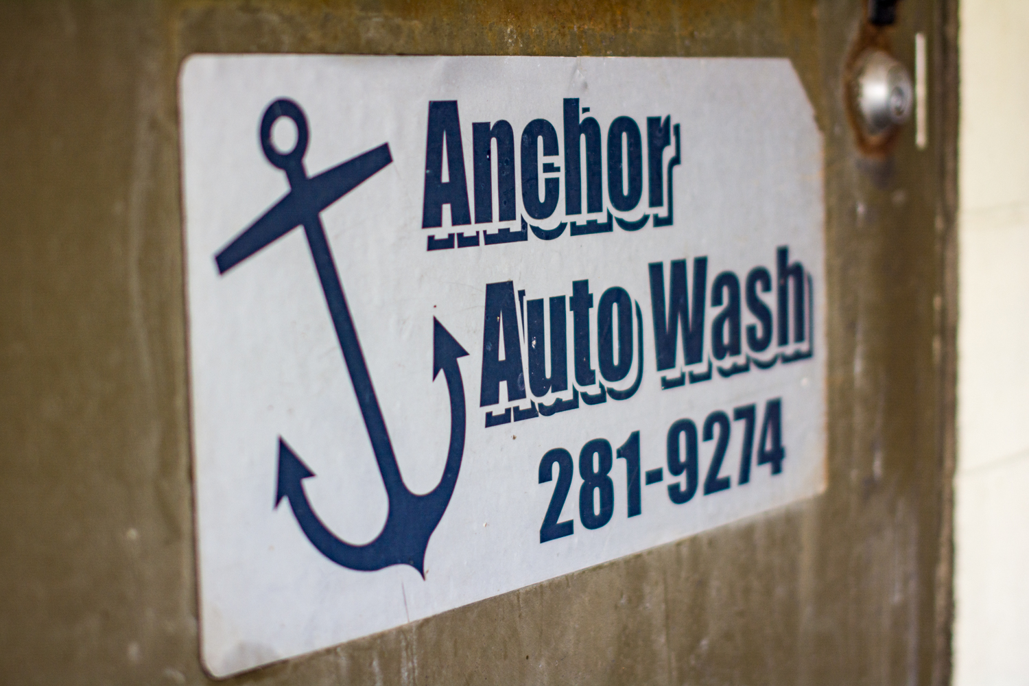 Anchor Auto Wash Grand Rapids Michigan logo